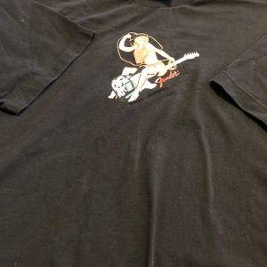 Fender black short sleeve T-shirt Men's